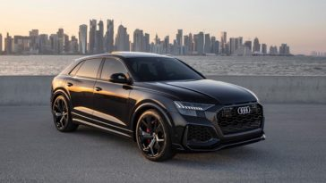 Audi RS Q8 zonder ODF