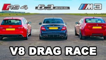 BMW M3 vs Audi RS4 vs AMG C63