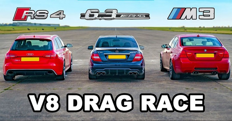 BMW M3 vs Audi RS4 vs AMG C63
