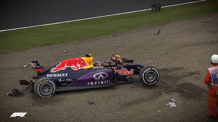 De zwaarste crashes van de huidige Formule 1-coureurs