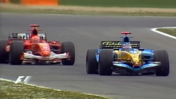 F1 Battle - Alonso vs Schumacher Imola 2005