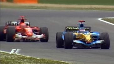 F1 Battle - Alonso vs Schumacher Imola 2005