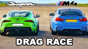 Getunede Toyota Supra Mk5 vs BMW F82 M4