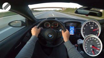 Supercharged BMW M6 V10 haalt met gemak 300+