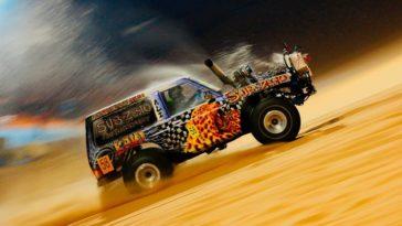 Wat achtergrondinformatie over duinraces in de Emiraten