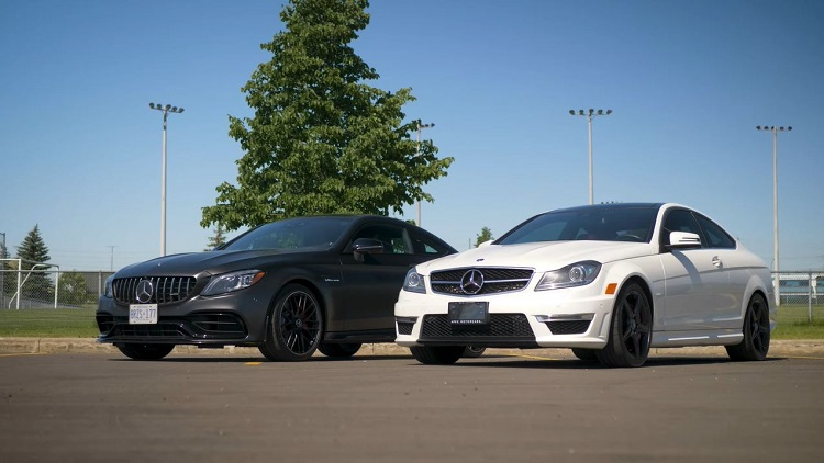 2020 Mercedes-AMG C63 S vs 2013 Mercedes C63 AMG