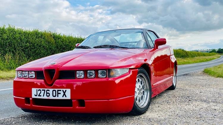Alfa Romeo SZ Review