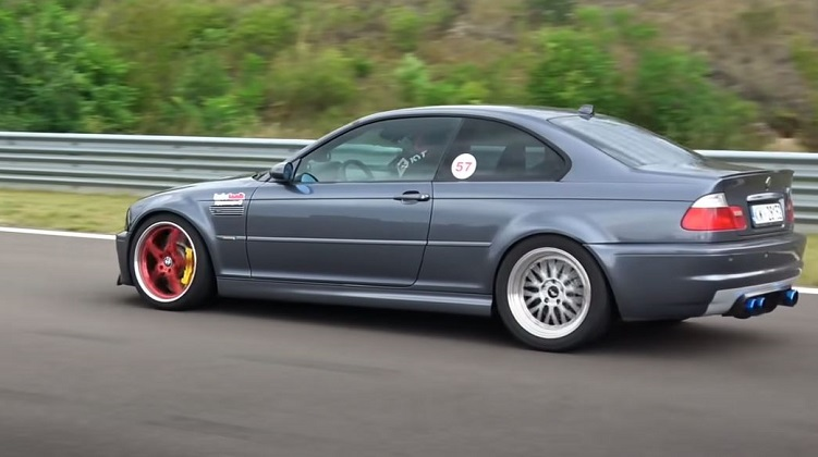 BMW E46 M3 Turbo met 980 pk