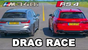 BMW M340i vs Audi RS4