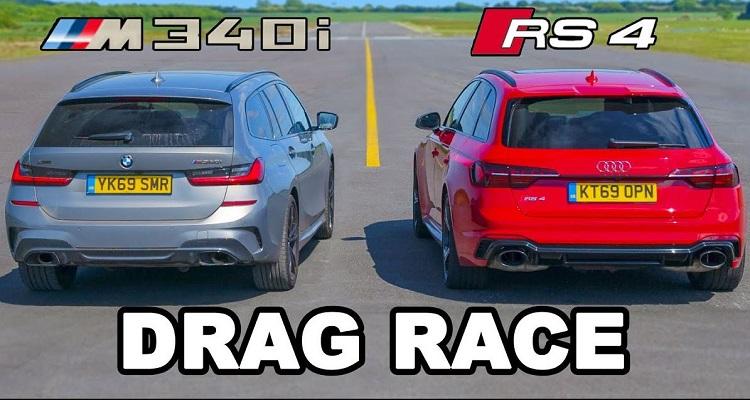 BMW M340i vs Audi RS4