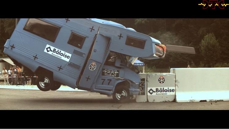 Crashtest Fiat Ducato Camper