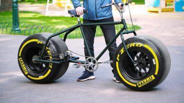 Een fiets met Pirelli F1-banden is te cool!
