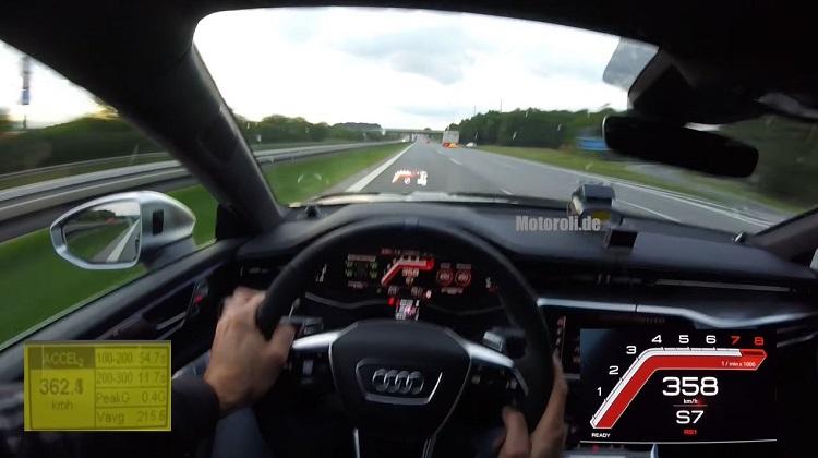 HGP Audi RS7 met bijna 1.000 pk haalt 363 kmh