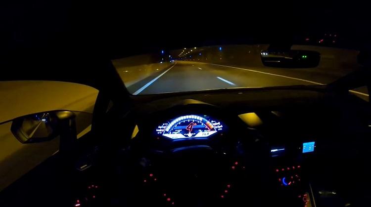Lamborghini Huracán Performante TUNNELRUN!