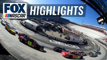 NASCAR 2020 - Bristol 500 Highlights