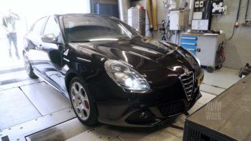 Op de Rollenbank - Alfa Romeo Giulietta 1.7 QV