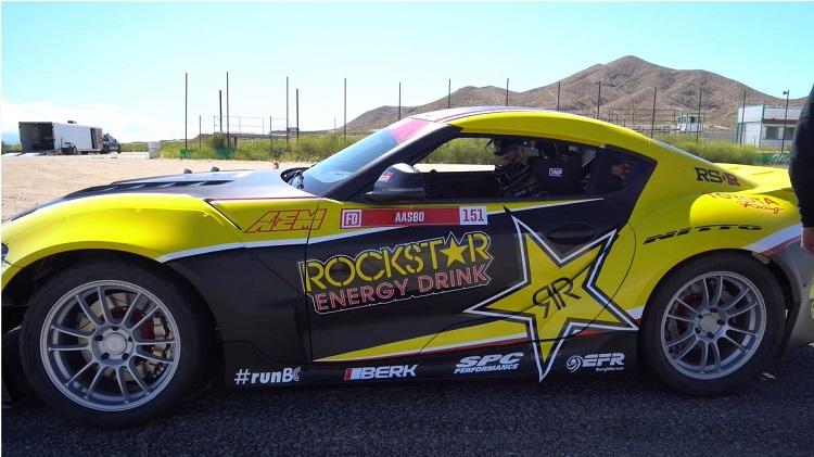 Papadakis Racing's 1.000 pk Toyota Supra