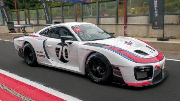 Porsche 935 in actie op Circuit Zolder!