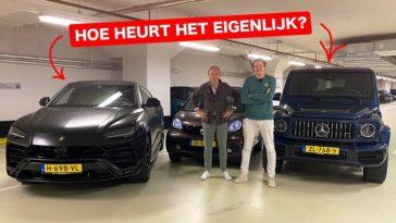 Twee kakkers bespreken de Lamborghini Urus en Mercedes-AMG G63
