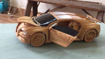 YouTuber maakt prachtige houten schaalmodellen