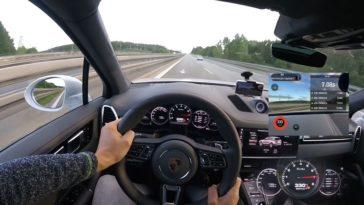 962 pk Porsche Cayenne Turbo haalt 333 kmh