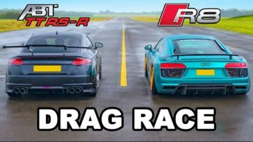 Audi R8 vs ABT TT RS-R