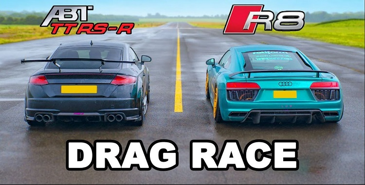 Audi R8 vs ABT TT RS-R