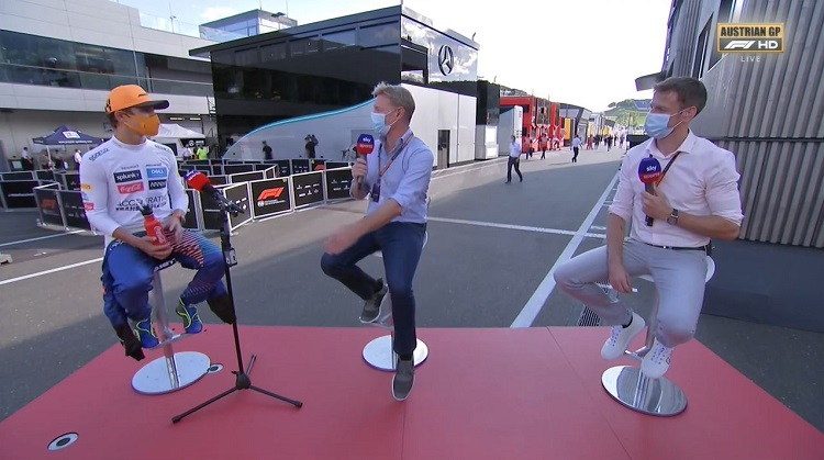 Interview met Lando Norris na zijn eerste podium in F1