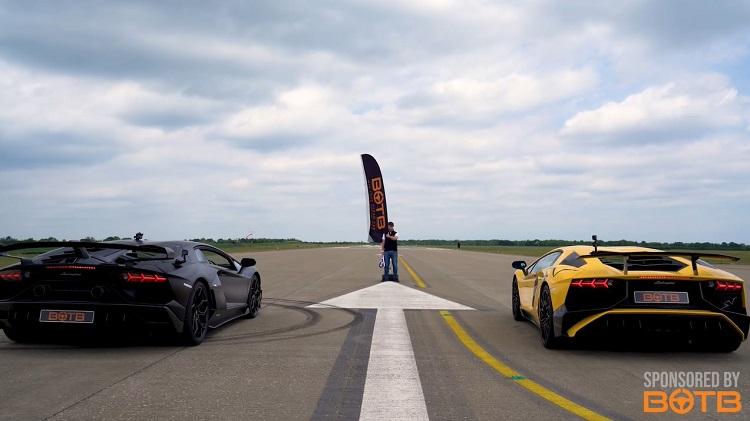 Is de Lamborghini Aventador SVJ sneller dan de SV.