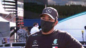 Lewis Hamilton interview Oostenrijk