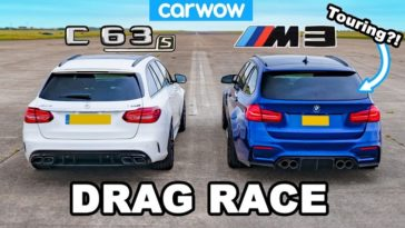 Mercedes-AMG C63 S Estate vs BMW M3 Touring