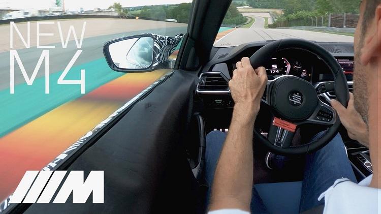Onboard bij de nieuwe handgeschakelde BMW M4