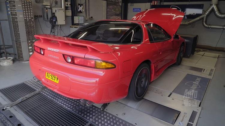 Op de Rollenbank - Mitsubishi 3000 GT