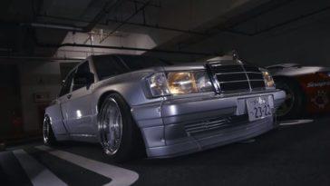 Pandem Mercedes 190E