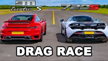 Porsche 911 Turbo S vs McLaren 720S