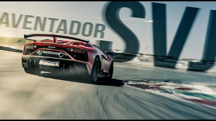 Prachtige Aventador SVJ op Circuit Zandvoort