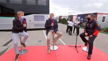 Red Bull-teambaas Horner reageert op onverwacht podium Verstappen