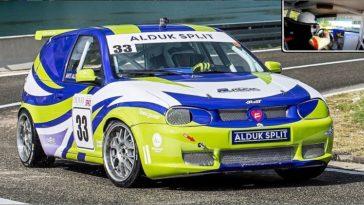 VW Golf R32 Turbo heeft 500 pk op de voorwielen