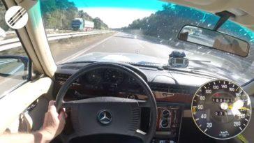 1978 Mercedes-Benz 450 SEL haalt nog gewoon 220 kmh
