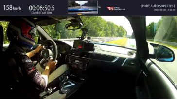 BMW M2 CS Nordschleife Lap
