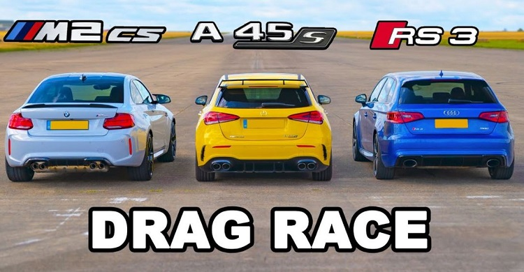 BMW M2 CS vs AMG A45 S vs Audi RS3