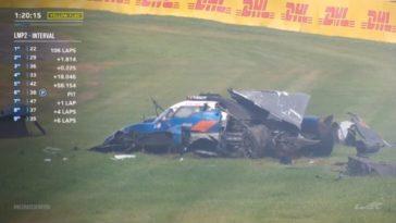 Harde Crash Spa-Francorchamps