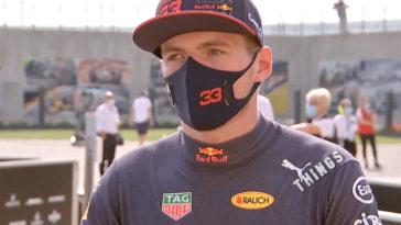 Interview Max Verstappen na overwinning in Groot-Brittannië