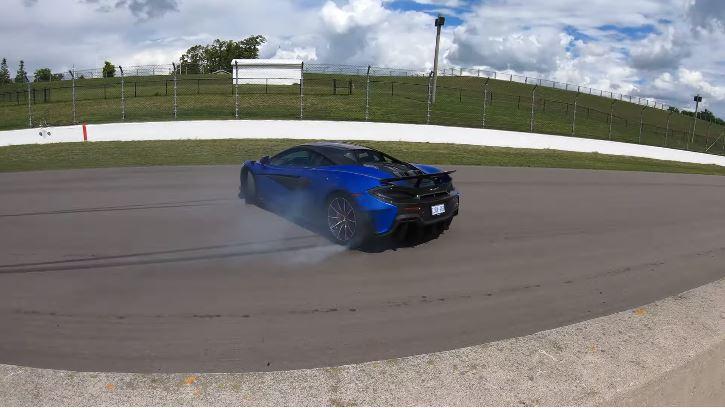 McLaren-bestuurder heeft een nieuwe onderbroek nodig
