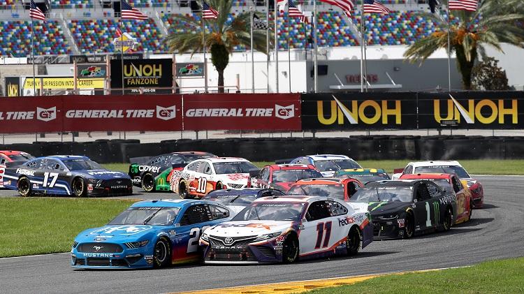NASCAR 2020 - Daytona Road Course Highlights