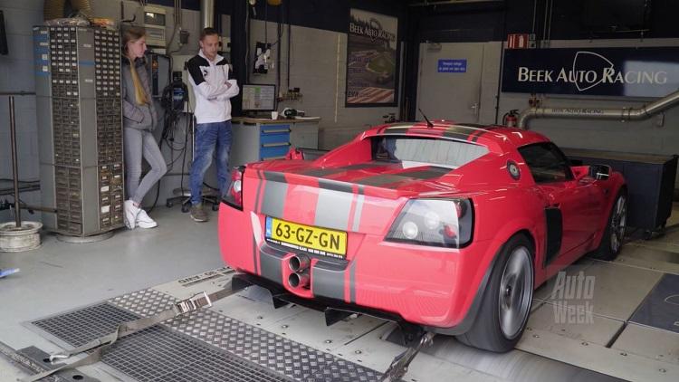 Op de Rollenbank - Opel Speedster 2.2