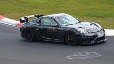 Porsche 718 Cayman GT4 RS blijft rondjes draaien op de 'Ring