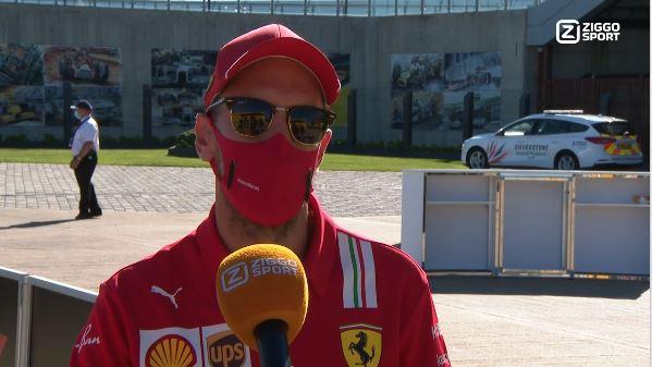Sebastian Vettel hoopt op een contract bij Ziggo Sport