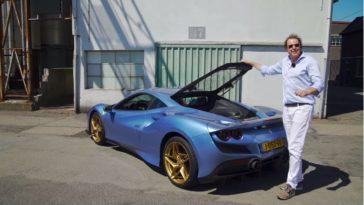 Sjoerd van Stokkum test eerste Ferrari F8 Tributo van Nederland