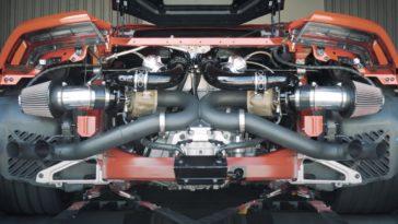 Twin Turbo Lamborghini Huracan by Hennessey